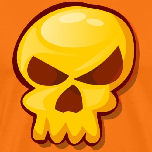 Golden Skull - Camiseta premium hombre