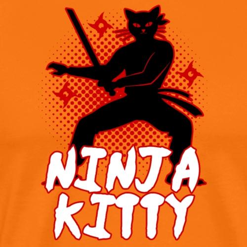 Ninja Kitty - Männer Premium T-Shirt