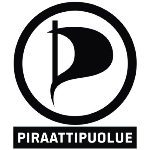 Piraattipuolue - Miesten premium t-paita
