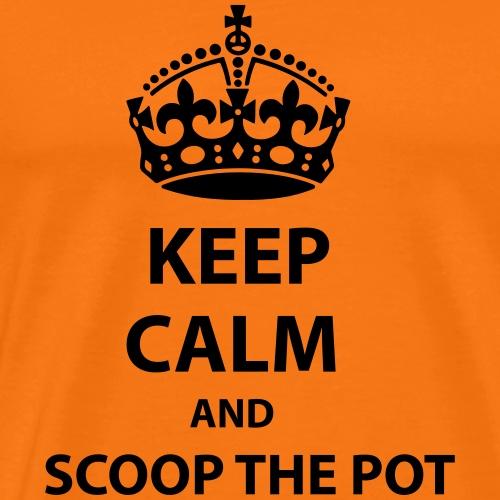 Scoop The Pot - Premium-T-shirt herr