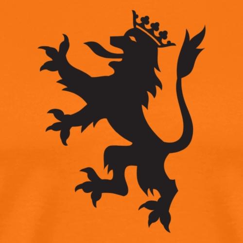 Escudo León - Camiseta premium hombre