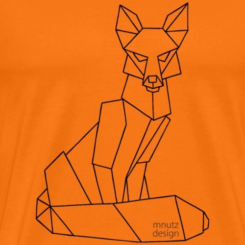 ORIGAMI - Fuchs - Männer Premium T-Shirt