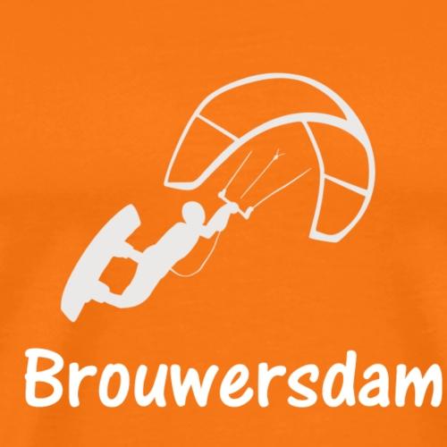 Kitesurfer Brouwersdam - Männer Premium T-Shirt