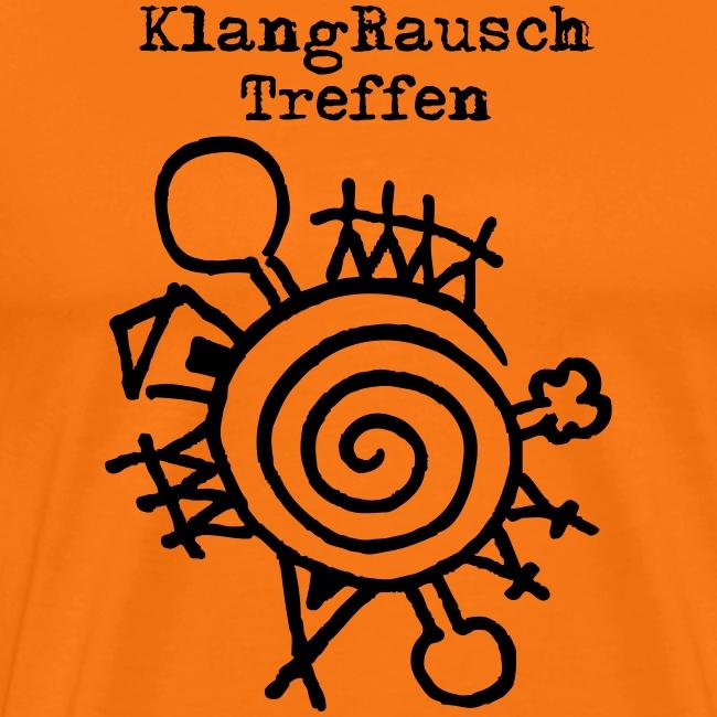 KlangRauschTreffen Logo mit Schrift