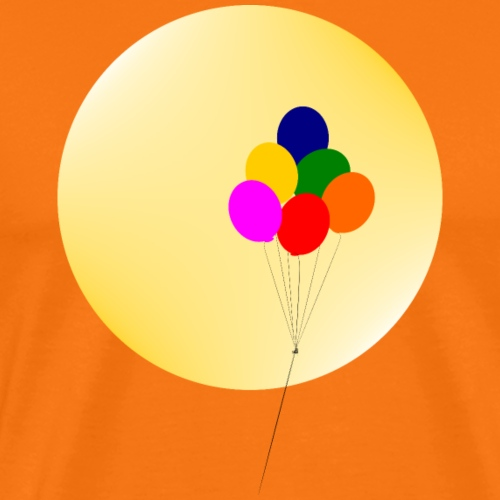 Colorful balloons - Men's Premium T-Shirt