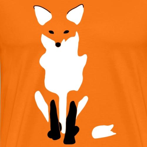 FOX SIT - Männer Premium T-Shirt