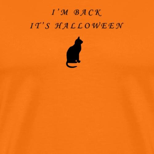 Halloween Cat - Männer Premium T-Shirt