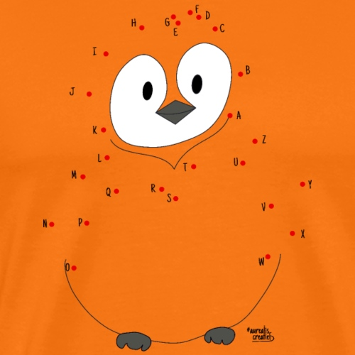 Pingouin intelligent - T-shirt Premium Homme