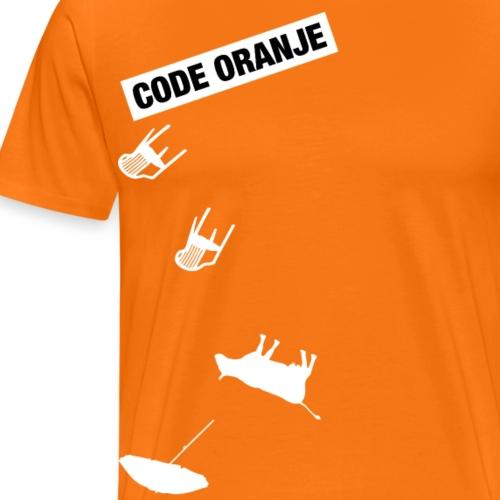Code Oranje - Mannen Premium T-shirt