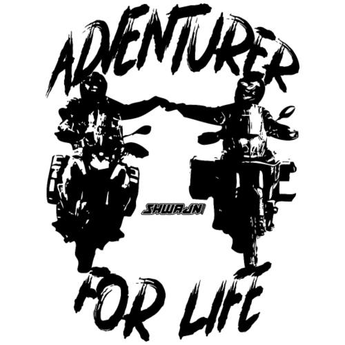 Adventurer For Life - black print