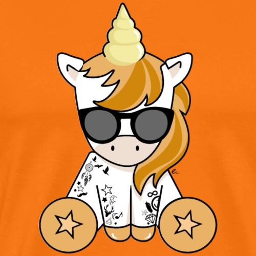 Licorne Hipster - T-shirt Premium Homme