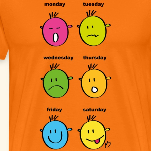 Mein Montags-Shirt - Männer Premium T-Shirt