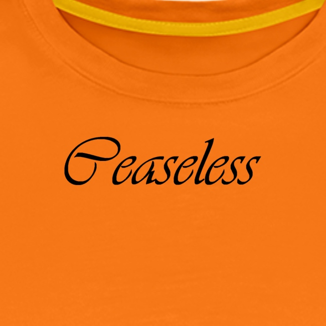 Finishing Ceaseless