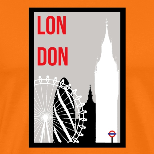 London Skylines - Men's Premium T-Shirt
