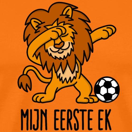 Mijn eerste EK voetbal Dab leeuw Nederland Oranje - Mannen Premium T-shirt