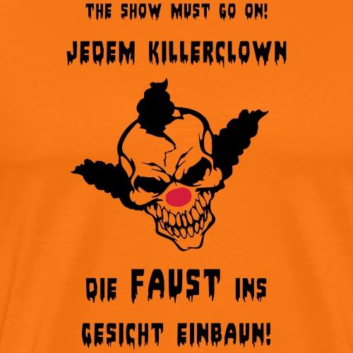 Killerclown - Männer Premium T-Shirt