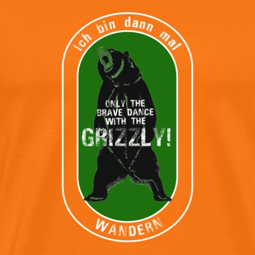 Wandern T-Shirt Dance with the Grizzly