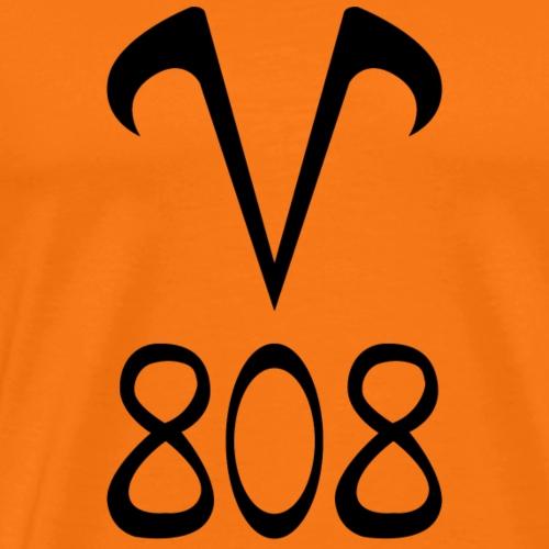 V808 Noir - T-shirt Premium Homme