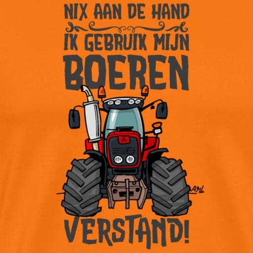 0211 MasseyFerguson nix aan de hand - Mannen Premium T-shirt