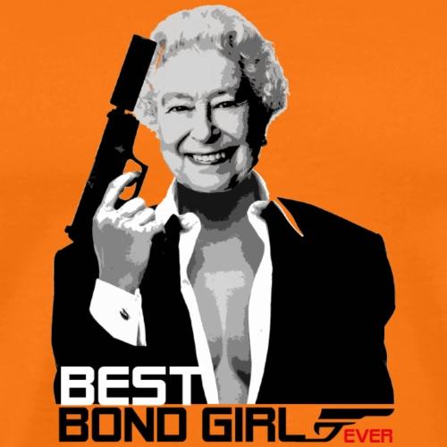 T SHIRT MAGLIETTA BEST BOND GIRL EVER 007 - Maglietta Premium da uomo