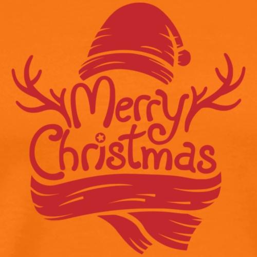 Merry Christmas - Koszulka męska Premium