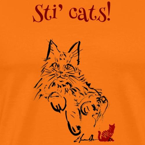 STI'CATS - Maglietta Premium da uomo