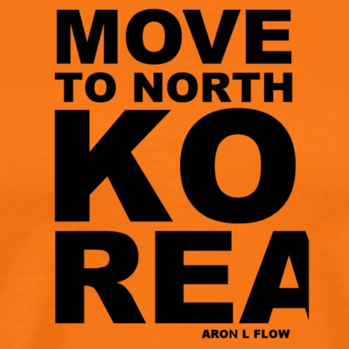 MOVE TO NK black - Männer Premium T-Shirt