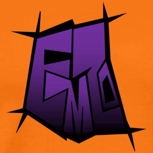 emzo purple - Men's Premium T-Shirt
