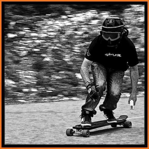 downhill - T-shirt Premium Homme