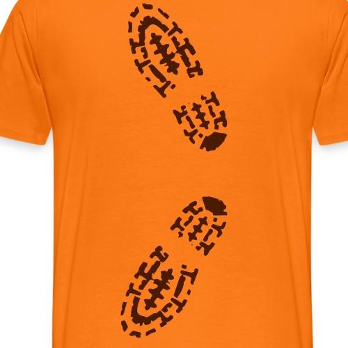 shoe step - Männer Premium T-Shirt