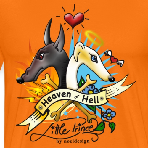heaven_or_hell - Männer Premium T-Shirt