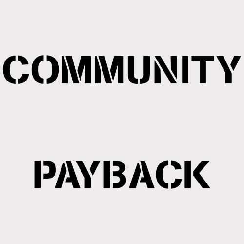 Community Payback VECTOR - Männer Premium T-Shirt