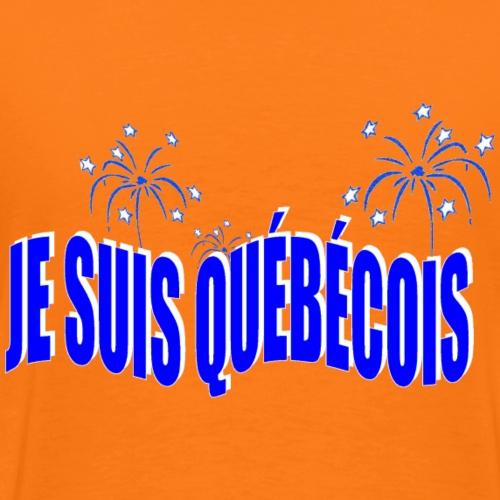 JE SUIS QUÉBÉCOIS 2 - T-shirt Premium Homme