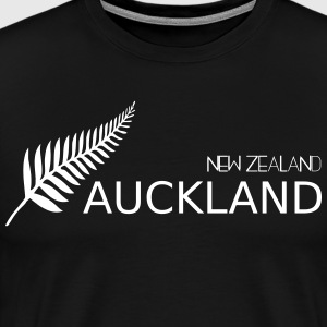 auckland new zealand - Herre premium T-shirt