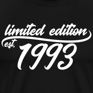 Limited Edition est 1993 - Premium T-skjorte for menn
