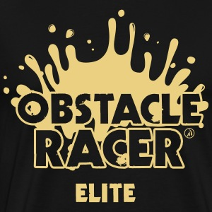 Racer Elite Hinder - Premium-T-shirt herr