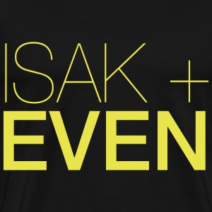 ISAK + EVEN - Premium-T-shirt herr