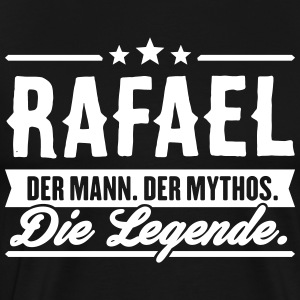 Man Myth Legend Rafael - Premium T-skjorte for menn