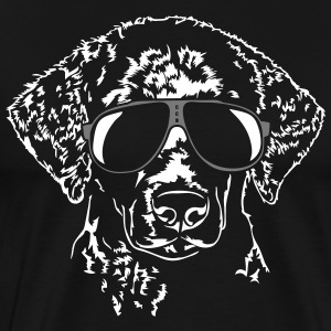 Coated Retriever fresco rizado - Camiseta premium hombre