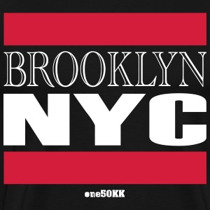 Brooklyn NYC - Premium-T-shirt herr