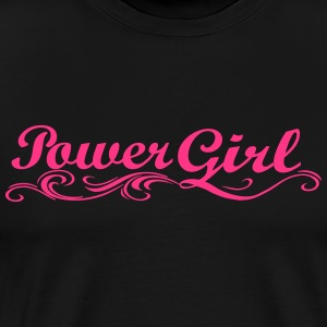 Power Girl - Men's Premium T-Shirt