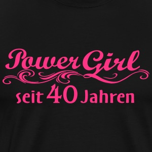 Girl Power de 40 ans - T-shirt Premium Homme