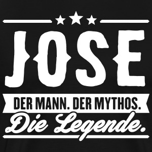 Man Myte Legend Jose - Herre premium T-shirt
