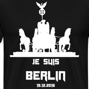 JE SUIS BERLIN 12/19/2016 - Men's Premium T-Shirt