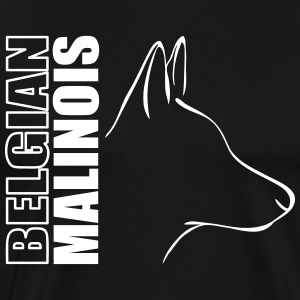 BELGIAN MALINOIS PROFILE - Men's Premium T-Shirt