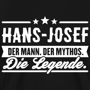 Man Myth Legend Hans-Josef - Men's Premium T-Shirt