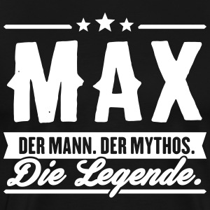 Man Myth Legend Max - Premium T-skjorte for menn