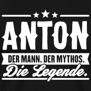 Man Myth Legend Anton - Men's Premium T-Shirt