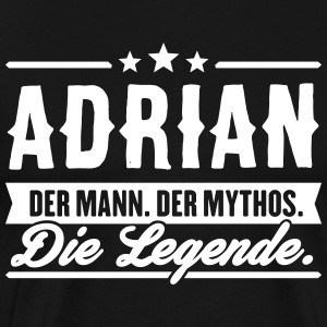 Man Myth Legend Adrian - Men's Premium T-Shirt