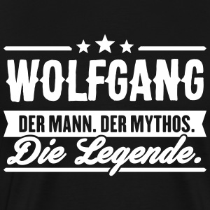 Man Myth Legend Wolfgang - Premium T-skjorte for menn